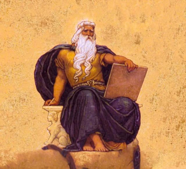Zeus, the god. of Sky