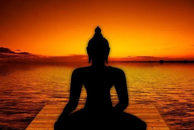 buddha doing yoga