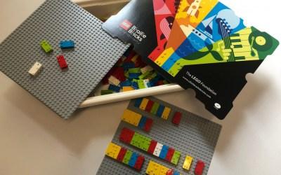 I LEGO Braille Bricks a scintillae!
