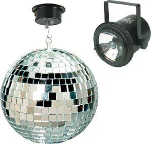 Mirror Ball and Pinspot