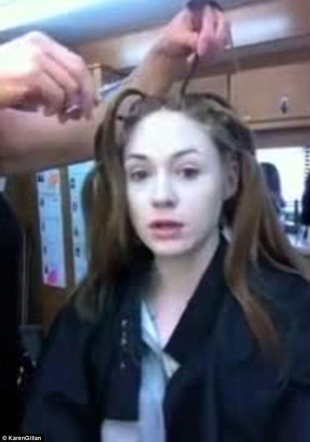 Watch Karen Gillan Shave Her Head