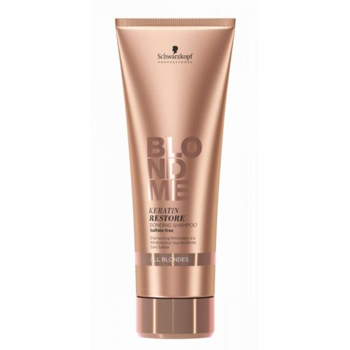 Schwarzkopf Professional Blondme Keratin Restore Bonding Shampoo 250ml (Όλα τα Ξανθά)