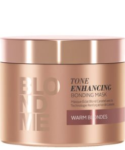 Blondme Tone Enhancing Bonding Mask 200ml (Ζεστά ξανθά)