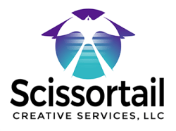 Logo for Scissortail Creative Services, LLC