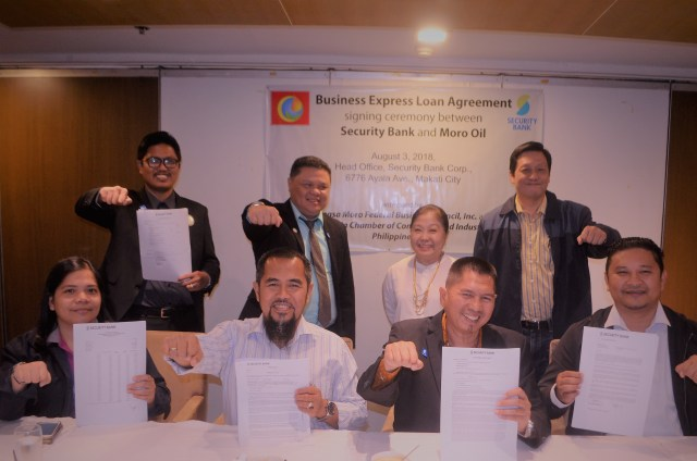 Security Bank and Moro Oil Contract Signing July 4 2018 in Makati City 2