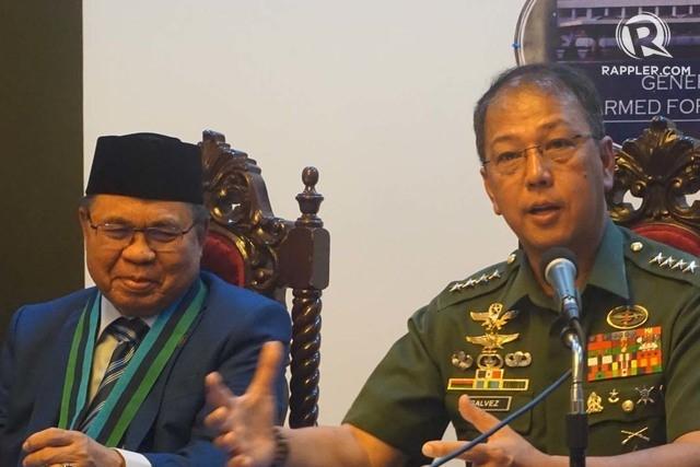 General Carlito Galvez Jr MILF Al Haj Murad Ebrahim conference