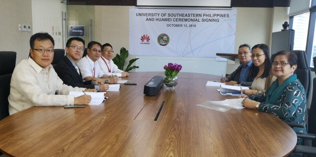 Meeting between Huawei and USeP - Science and Digital News