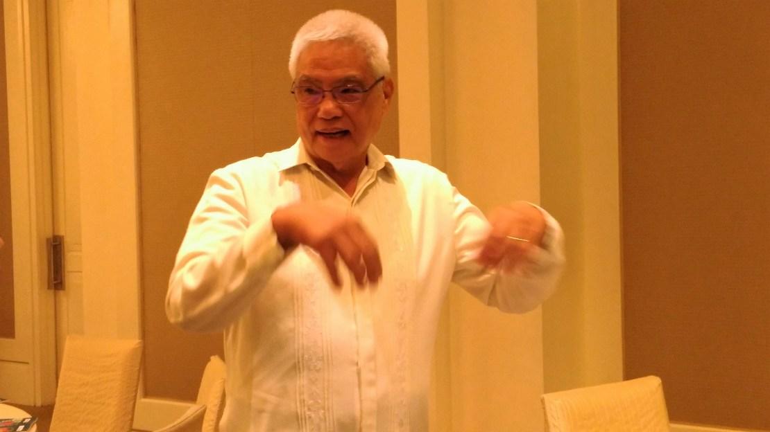 Acting Secretary Eliseo M Rio Jr.