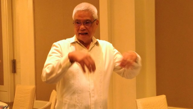 Acting Secretary Eliseo M Rio Jr.