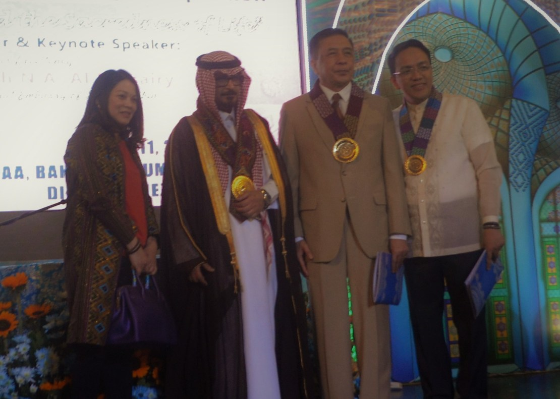 Exec Dir Lidasan & wife with Amba and Sec SBP