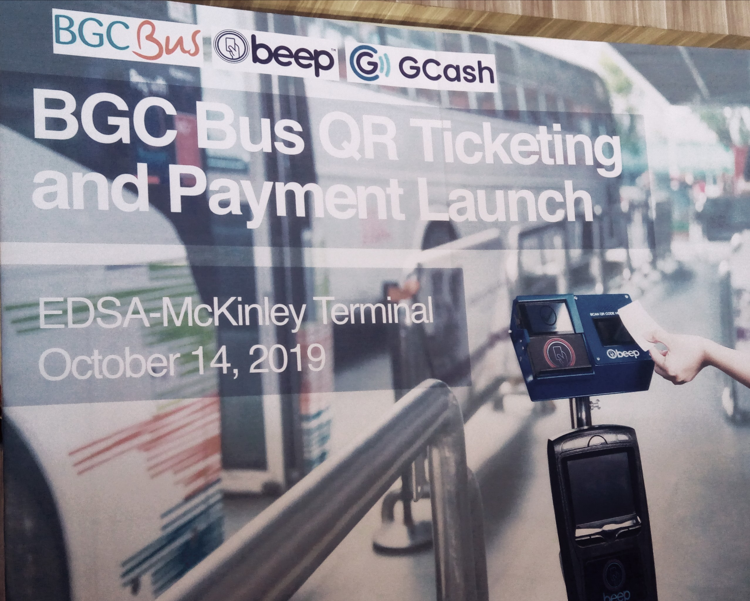 AF Payments, beep, GCash, transport ticketing, QR Codes