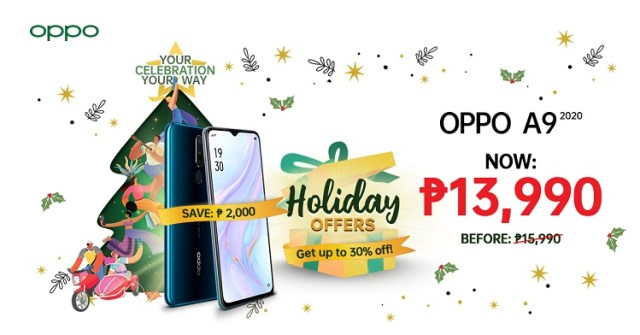 OPPO, 'PamaskOPPO', big treats, fans, Christmas, smartphones