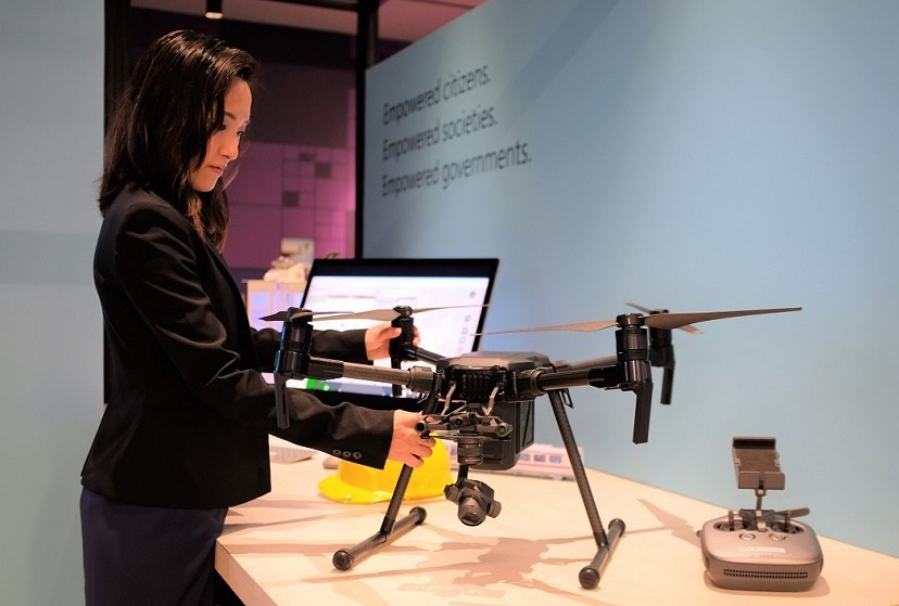Microsoft, APAC, ECA, Singapore, IT, drone