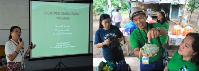 DOST-PCAARRD, cacao, training, pest, sustainable, climate change