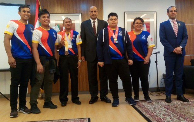 United Arab Emirates, Abu Dhabi, Special Olympics, World Games, Filipino athletes