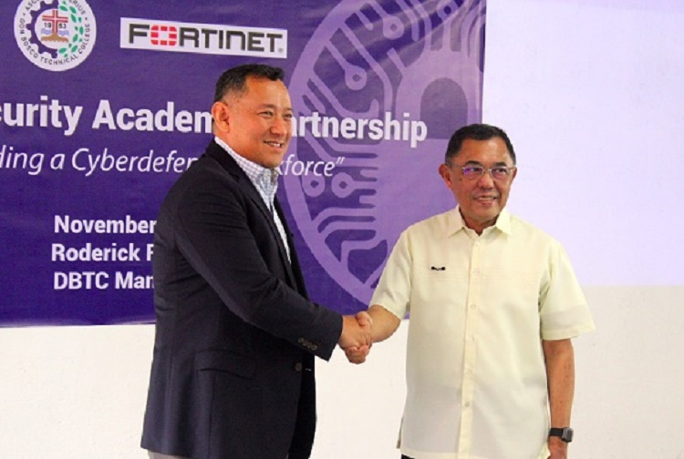 Fortinet, Don Bosco, cybersecurity, developing, talents