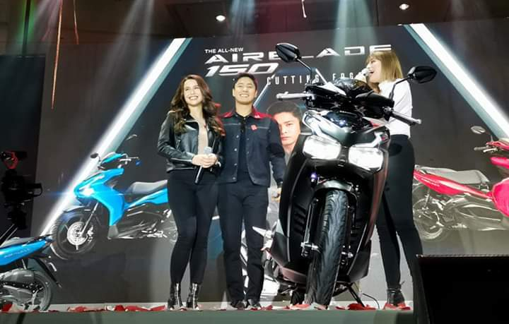 Honda Philippines, Coco Martin, Yassi Pressman, All-New Airblade 150, urban riders, motorcycles, scooter