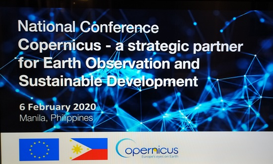 EU, Copernicus Program, space, Haiyan, conference