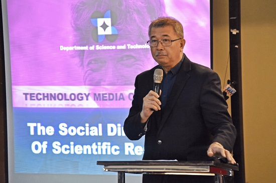 DOST, Covid-19 initiatives, science and technology, Science Secretary Fortunato T. de la Pena