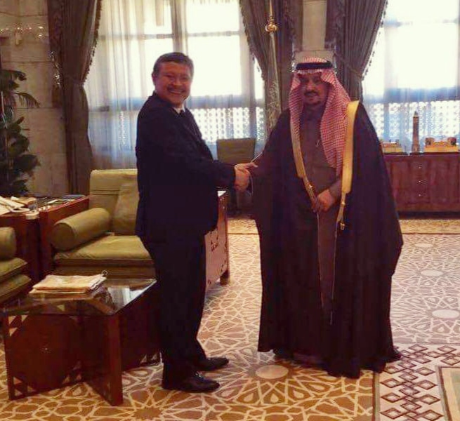 Amb. Alonto, extension, Saudi Arabia, expatriates, visas, residency permits