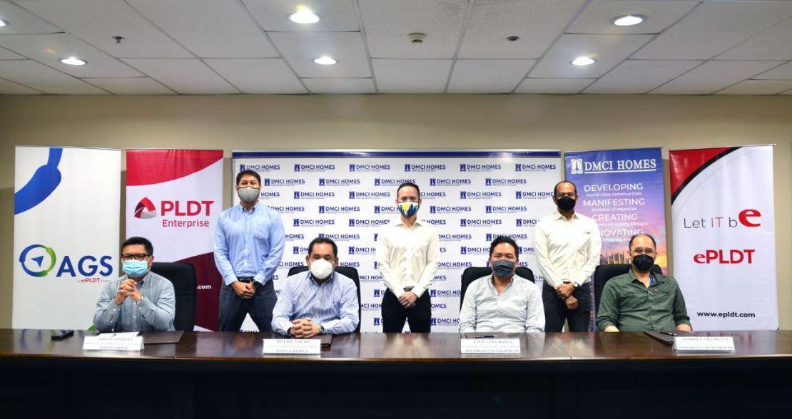 PLDT Enterprise and DMCI Homes strengthen their partnership.