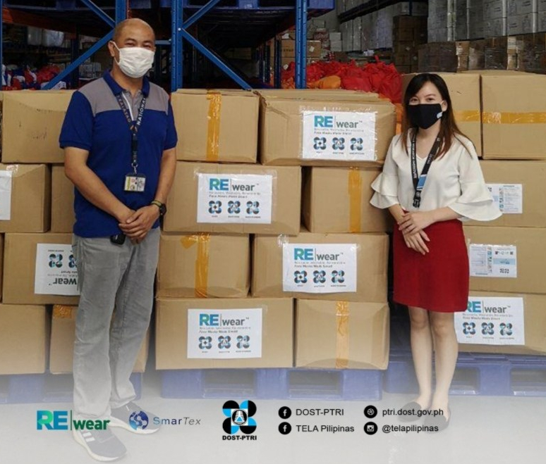 DOST is providing REwear Face Masks to gov't agenciee.