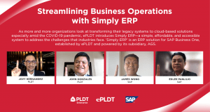 ePLDT launches 'Simply ERP' for streamlined business operations.