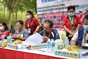 Indigenous Peoples received assistance from government agencies