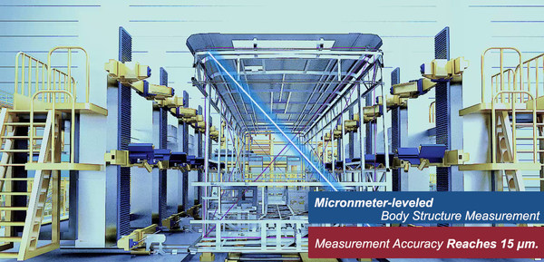 Measurement Accuracy at Changde CRRC New Energy Vehicle Dark Smart Factory.
