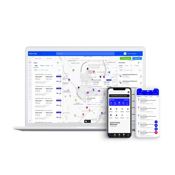 DelyvaX - Integrated courier management system from order to delivery.