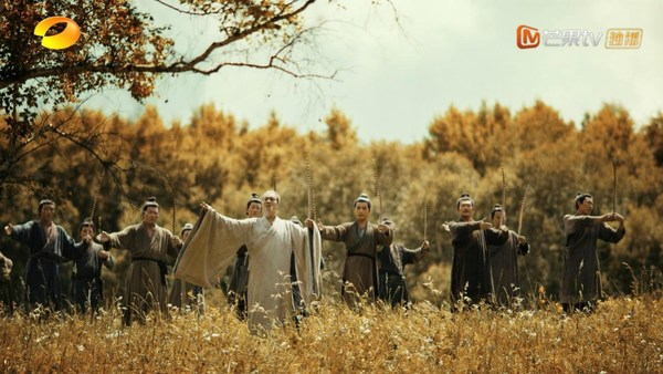 """Spring and Autumn Period"" in CHINA Episode 1, Confucius is teaching the rites to his disciples."