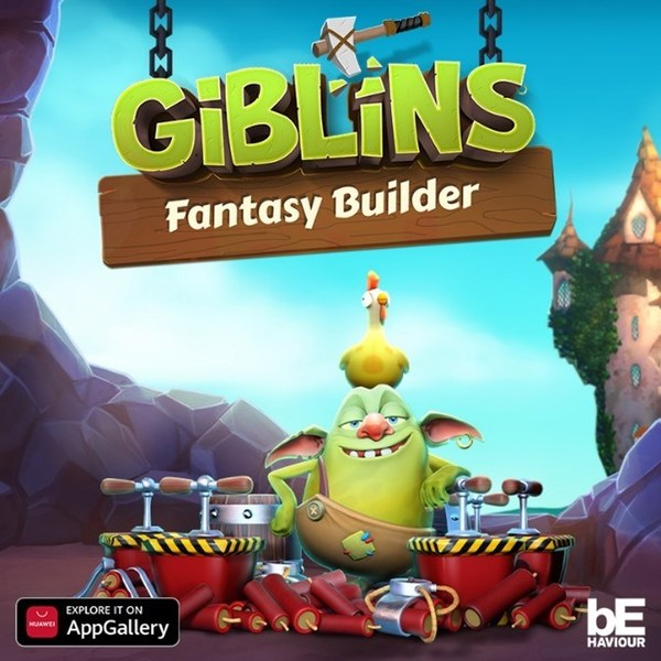 AppGallery is one of the first Android app marketplaces to release Giblins™ Fantasy Builder.