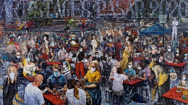 Art Stages Pasar 2020, Mr Zhang Chunlei, 2020 UOB Painting of the Year (Singapore)