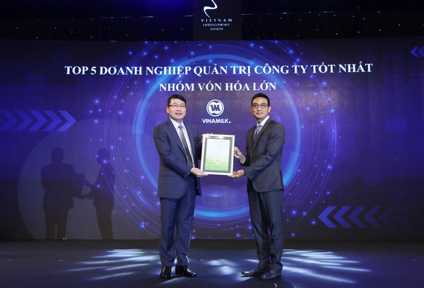 """Vinamilk named """"ASEAN Asset Class"""" and Vietnam's Top Listed Company for Corporate Governance"""