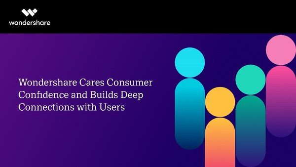 Wondershare Cares about Consumer Confidence and Builds Deep Connections with Users