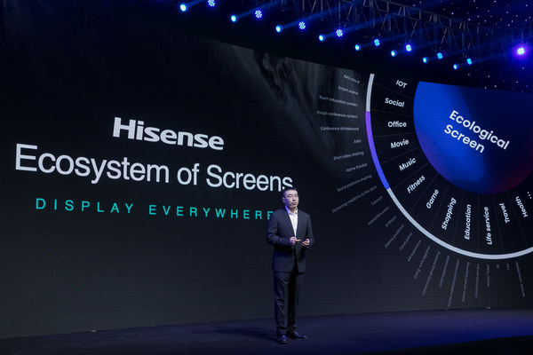 In 2021, Hisense will focus on the core competencies of picture quality and applications, and releasing the new ULED TV product with high refresh rate and dynamic range, as well as the new TriChroma Laser TVs.