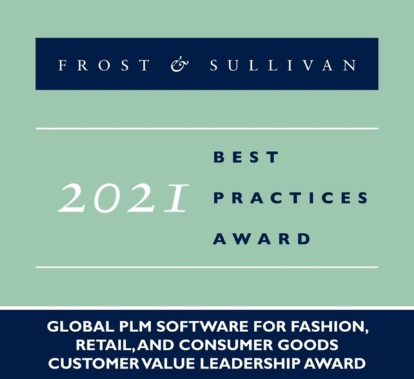 2021 Global PLM Software for Fashion, Retail, and Consumer Goods Customer Value Leadership Award