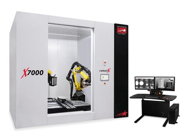 NSI X7000 X-ray system with dual robotiX
