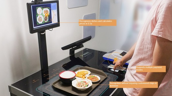 Sodexo, one of the world's largest catering service providers, works with Huawei to launch the Seefood intelligent settlement solution. The solution builds on the Huawei Atlas AI software and hardware platform, and combines AI image recognition into the settlement phase to automatically recognize dishes, calculate prices, and complete settlement via cards and mobile terminals.