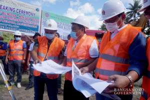 Breaking ground for Bangsamoro infra projects in Buldon, Maguindanao..