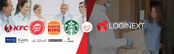 Global Logistics Tech company LogiNext partners with Amrest, Europe's leading multi-brand franchise restaurant operator