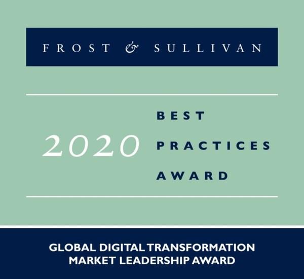 2020 Global Digital Transformation Market Leadership Award