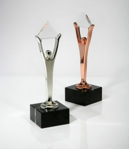 Silver and Bronze Trophies