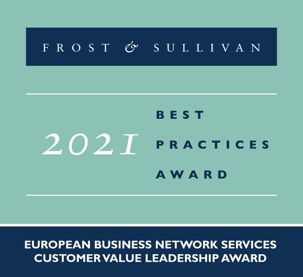 2021 European Business Network Services Customer Value Leadership Award