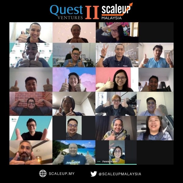 ScaleUp Malaysia & Quest Ventures - Cohort 2 Top 11 Startups