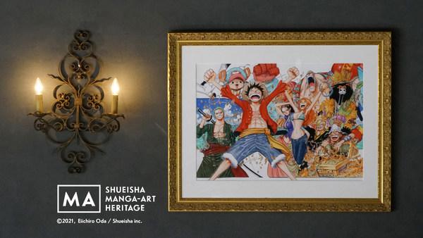 Manga Art from ONE PIECE by Eiichiro Oda