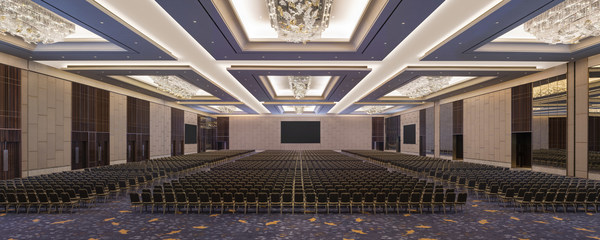 The Westin Surabaya Grand Ballroom with Theater Setup