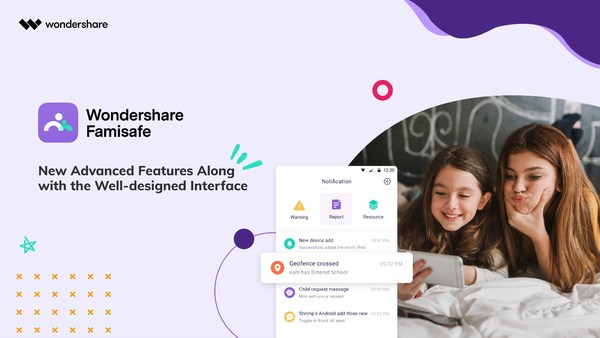 Wondershare FamiSafe 4.5 Update Brings Advanced Parental Control Solutions