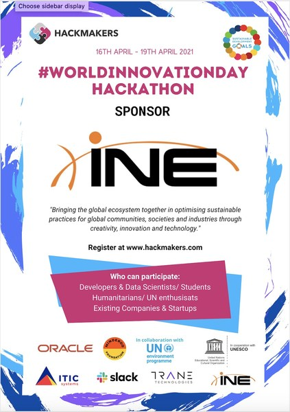 INE Partners with United Nations, Hackmakers for Global Hackathon