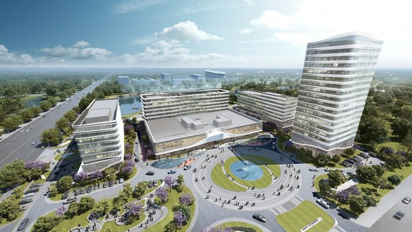 Rendering of China's first La Quinta by Wyndham due to open in Weifang, Shandong Province this year